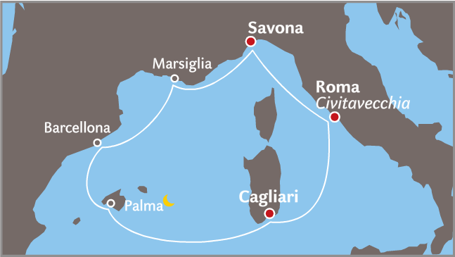 Navigation from Cremona to Venice